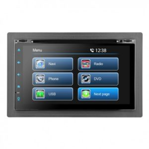 Blaupunkt universal double din car radio