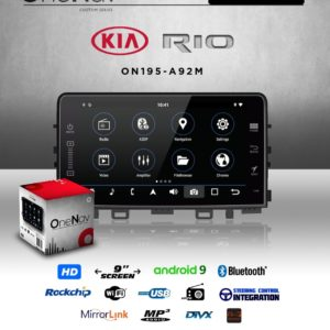 OneNav Android Multimedia Car Radio - Kia Rio