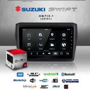 OneNav Android radio for Suzuki Swift