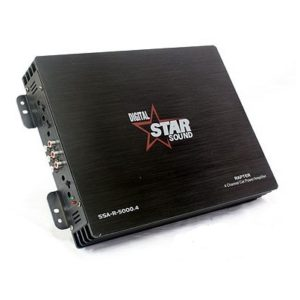 Starsound 4CH Amplifier-SSA-R-50004-5000W-4-Channel-Amplifier-1